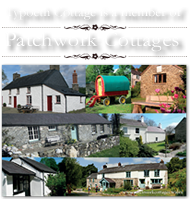 Typoeth Cottage is a member of Patchwork Cottages - this is their logo, photos of the cottages and a link to the website.