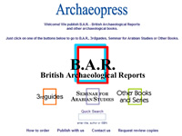 Archaeopress website screenshot and link.